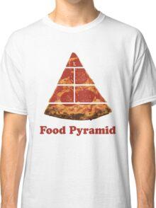 Food Pyramid Pizza Classic T-Shirt