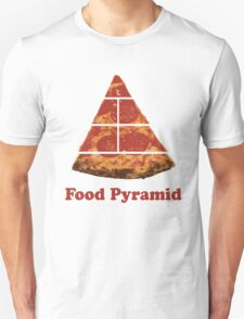 Food Pyramid Pizza Unisex T-Shirt