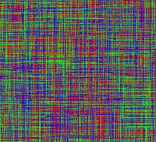 The mix of Red, Green, Blue lines by RubenW