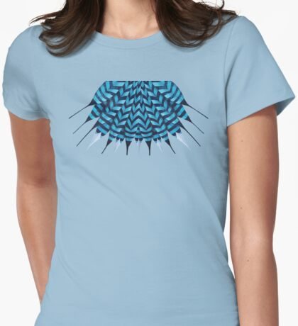 Forest Sentinel Womens Fitted T-Shirt