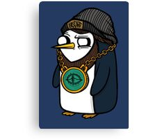 Gangsta Gunter Canvas Print