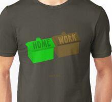 i walk to work. Unisex T-Shirt