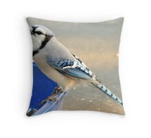 Return Of The Seed Thief Throw Pillow