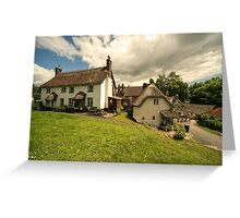Lustleigh Cottages  Greeting Card