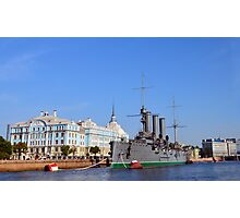 Russian Cruiser Aurora Photographic Print
