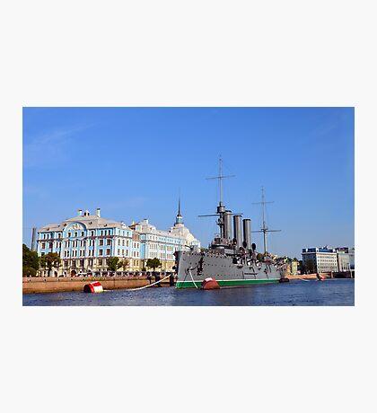 Russian Cruiser Aurora Photographic Print