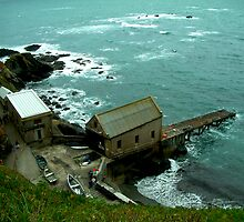 Lizard Lifeboat Station, Kilkobben Cove, Cornwall, England by newbeltane