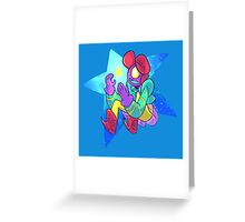 Kepler the alien adventurer  Greeting Card