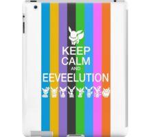 Keep Calm and Eeveelution iPad Case/Skin