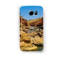 Bell Gorge in the Kimberley, Australia - square photo Samsung Galaxy Case/Skin