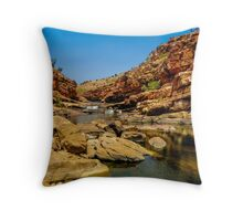 Bell Gorge in the Kimberley, Australia - square photo Throw Pillow