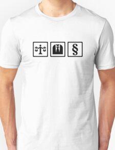 Lawyer scale suit T-Shirt