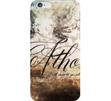 Athos grunge phone case iPhone Case/Skin