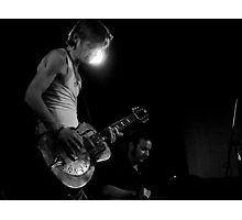 Chris Whitley & jeff Lang Photographic Print
