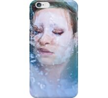Blue of Noon - Erotic art prints, erotic nude photography iPhone Case/Skin
