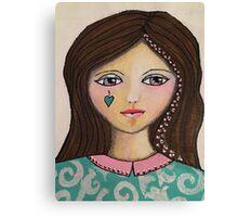 Belle Believes Canvas Print