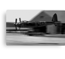 Mosquito beat-up at Greenham Common Canvas Print