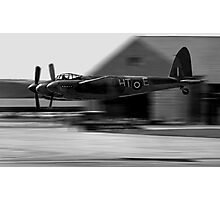Mosquito beat-up at Greenham Common Photographic Print