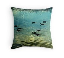 Evening is for Resting Throw Pillow