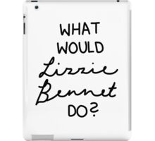 What Would Lizzie Bennet Do? iPad Case/Skin
