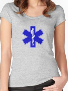 Medical Symbol Women's Fitted Scoop T-Shirt