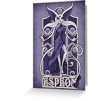 Rule 63: Espeon Greeting Card