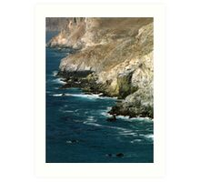 Catalina Coastline Art Print