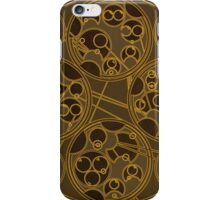 Tick-Tock Poem in Circular Gallifreyan iPhone Case/Skin