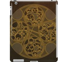 Tick-Tock Poem in Circular Gallifreyan iPad Case/Skin
