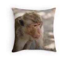 The Me Monkey Throw Pillow