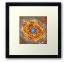 'Folded Sunlight (Sunlight)' Framed Print