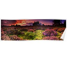Dunwich Heath Panoramas. Poster