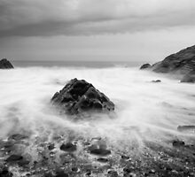 Smoke on the Water, Cornwall England by Cherrybom