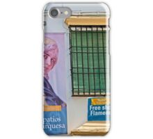 Flamenco Window iPhone Case/Skin