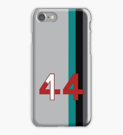 Hamilton 44 - Championship edition iPhone Case/Skin