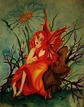 The Red Fairy by LaNae