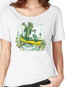 DAGONIN AND CTHULOBBES Women's Relaxed Fit T-Shirt