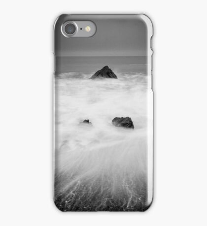 Smoke on the Water #2, Cornwall England iPhone Case/Skin