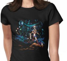 Moon Wars Womens Fitted T-Shirt