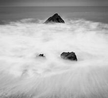 Smoke on the Water #2, Cornwall England by Cherrybom