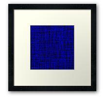 Blue, Blue, Blue Framed Print
