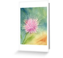 Thistle Surprise Greeting Card