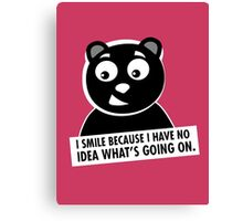 Naughty Bear Canvas Print