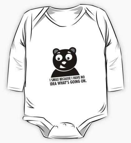 Naughty Bear One Piece - Long Sleeve