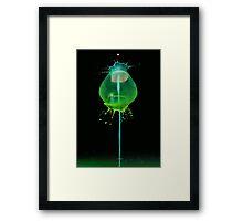Green jelly Framed Print