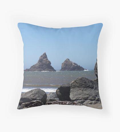 Lone Ranch Beach Throw Pillow