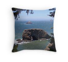 Arch Rock Throw Pillow