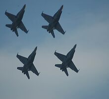 4 Jets. by nJohnjewell