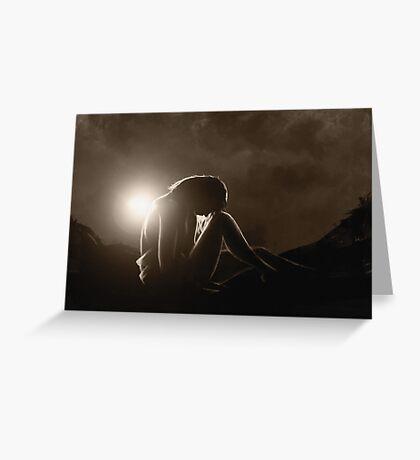 Rim Light Greeting Card