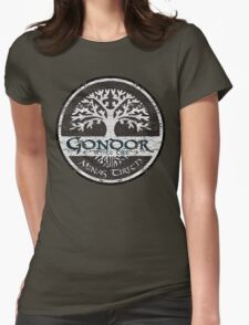 Knight Of Gondor Womens Fitted T-Shirt